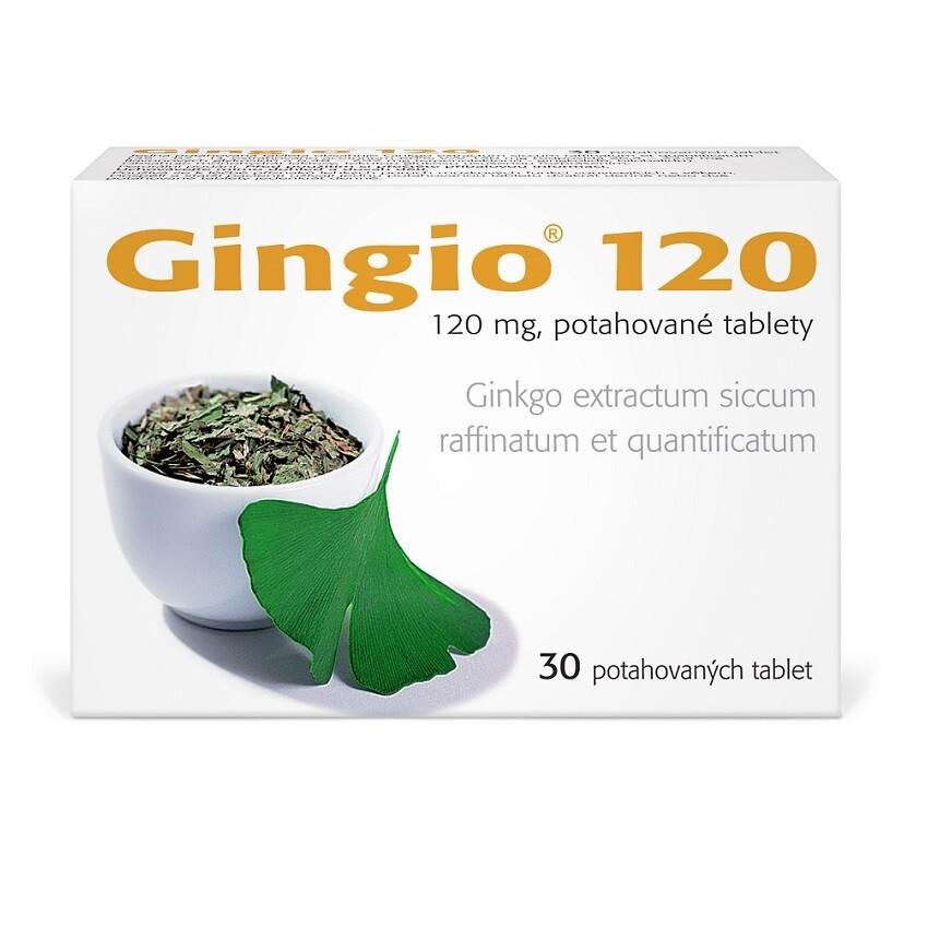 GINGIO 120MG potahované tablety 30