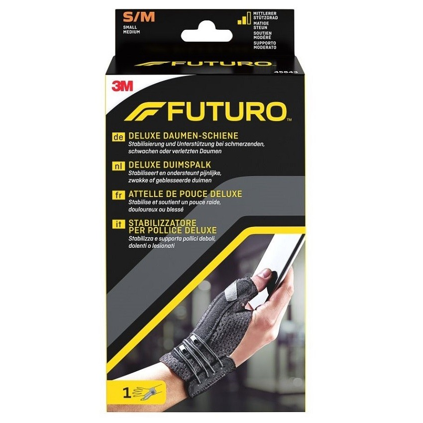 3M FUTURO Bandáž na palec S-M černá barva
