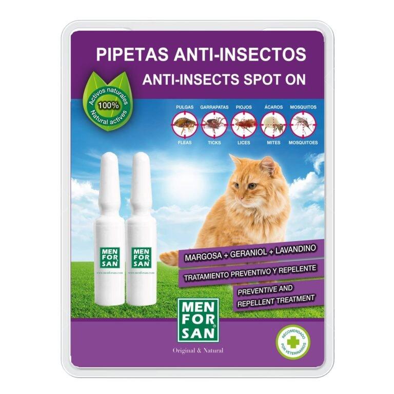 Menforsan Antiparazitní pipety pro kočky 2x1.5ml
