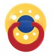 BABY NOVA Dudlík latex kulatý barevný č.3 23005