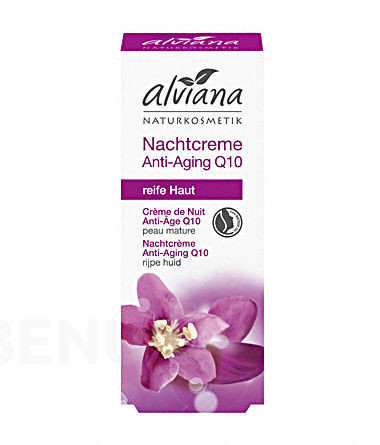 Alviana Noční krém proti stárnutí Q10 30 ml