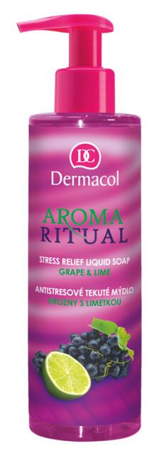 Dermacol AR tek.mýdlo hrozny+limeta 250ml