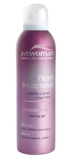 AVEWOMAN Pearl treatment dámsk.gel na holení 150ml