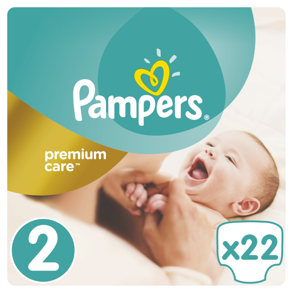 Pampers Premium Care Pack S2 22 ks Mini