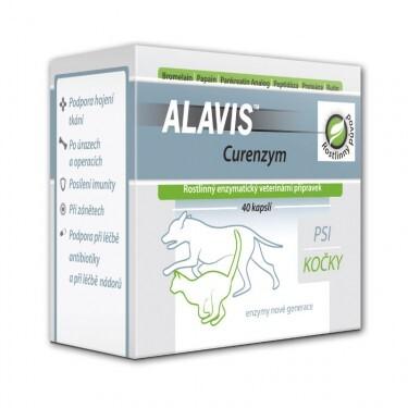 ALAVIS Curenzym Enzymoterapie a.u.v. cps.40