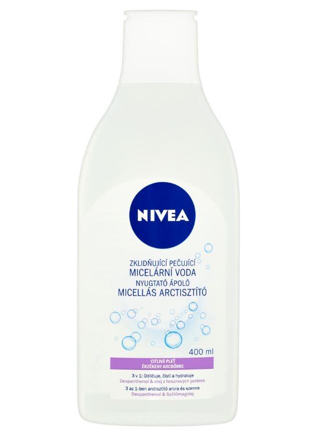 NIVEA Zklidňující micelární voda C 400ml č.89259