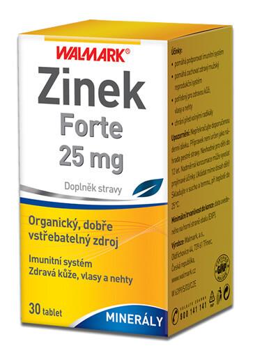 Walmark Zinek Forte 25 mg tbl. 30