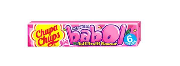 CHUPA CHUPS žvýkačka Big Babol Tutti-Frutti 28g