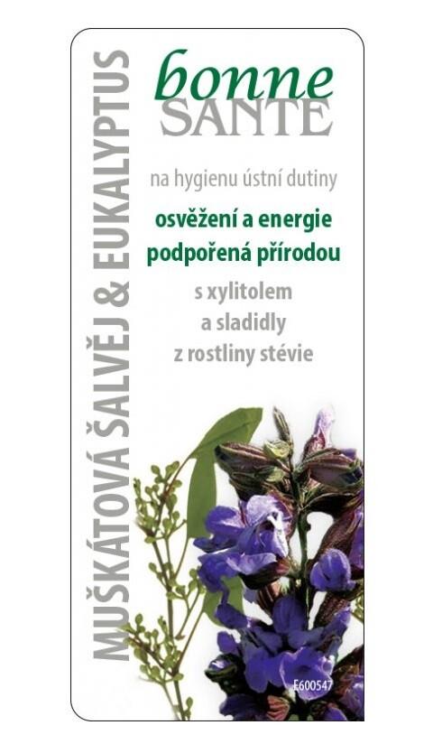 Bonne Santé Šalvěj muškátová+eukalyptus 8g
