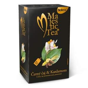 Čaj Majestic Tea Černý čaj & Kardamom 20x1.5g