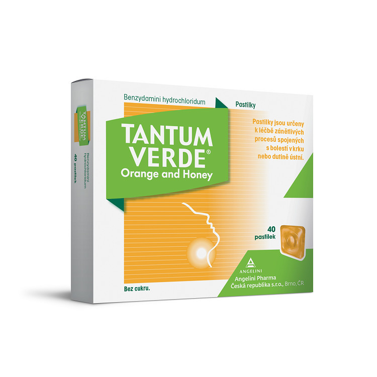 TANTUM VERDE ORANGE AND HONEY 3MG pastilka 40