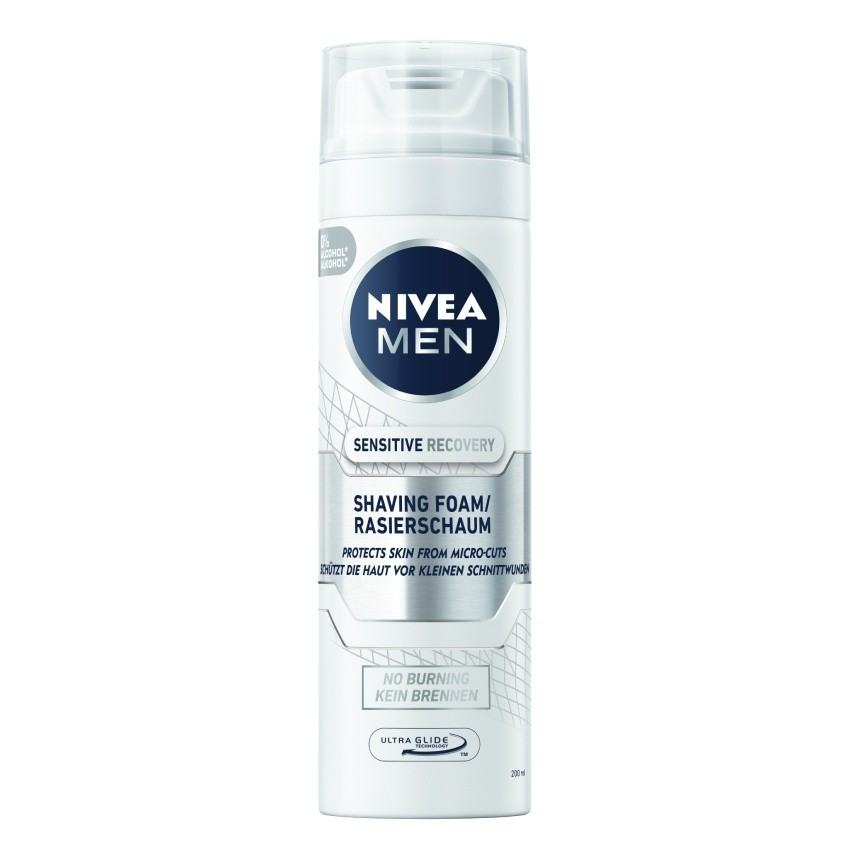 NIVEA MEN Pěna na holení Sensit.Rec.200ml č.88562