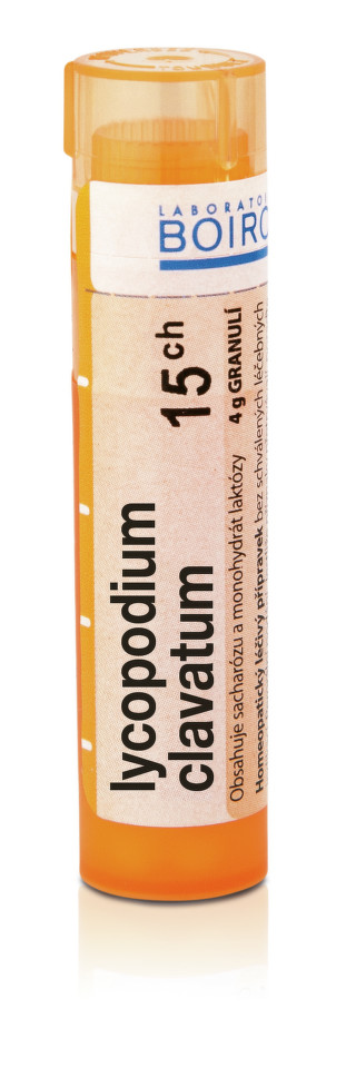 LYCOPODIUM CLAVATUM 15CH granule 1X4G
