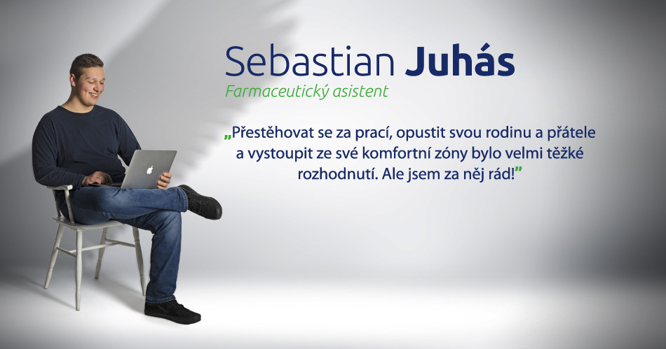 BENU kariéra - Sebastian Juhás - farmaceutický asistent
