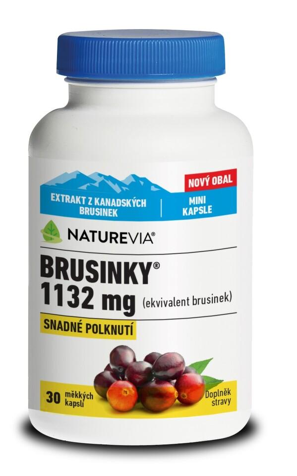 Swiss NatureVia Brusinky 1132mg cps.30