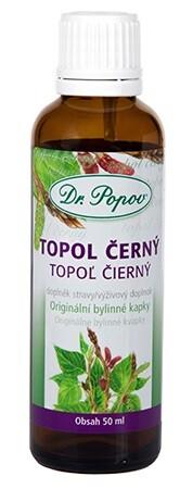 Dr.Popov Kapky bylinné Topol černý 50ml