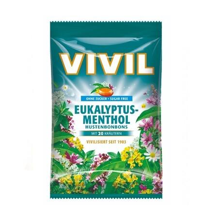 VIVIL Eukalyptus-mentol + 20 druhů bylin 80g