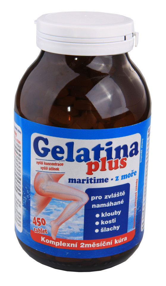 Gelatina Plus tbl.360+90 zdarma Kolagenní výživa