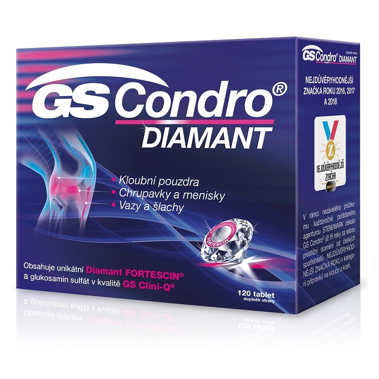GS Condro Diamant tbl.120 - balení 3 ks
