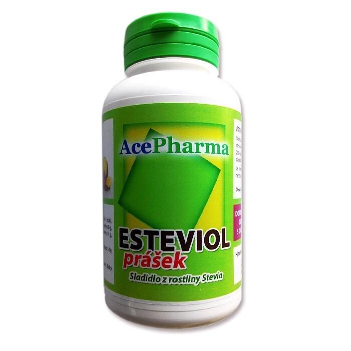 AcePharma Esteviol sladidlo z rostliny Stevia 50g