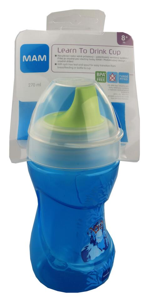 MAM Hrnek na učení Learn to drink cup 270ml 8+měs.