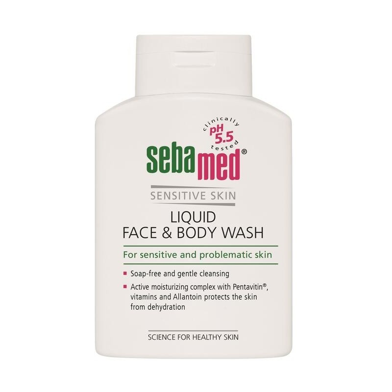 SEBAMED Mycí emulze na obličej a tělo 200ml