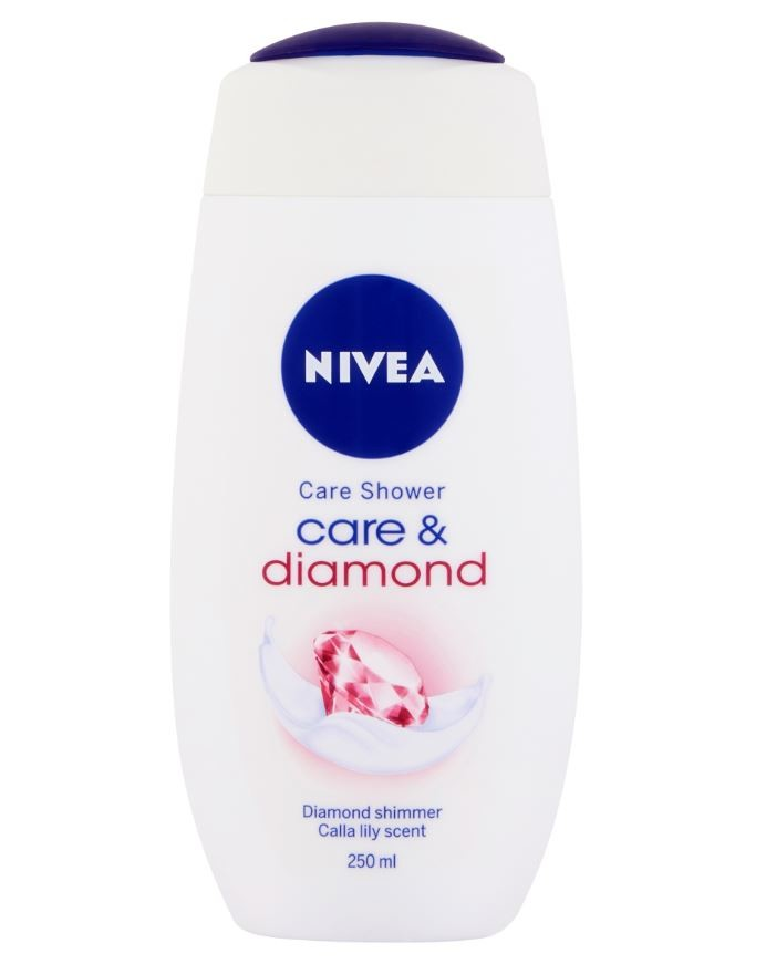 NIVEA Sprchový gel Care&Diamond 250ml. č.80750
