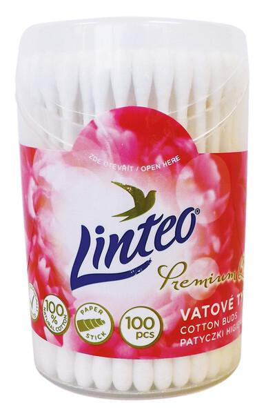 Vatové tyčinky LINTEO Premium 100ks