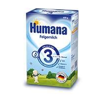 Humana 3 Pokrač. výživa 600g/od uk. 10.měsíce