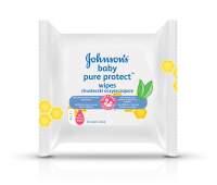 JOHNSON'S® Baby PURE PROTECT™ vlhčené ubrousky 25 ks