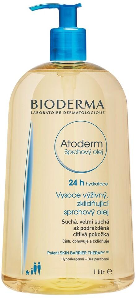 BIODERMA Atoderm Sprchový olej 1l Nakupte 3 produkty řady Bioderma Atoderm a zaplaťte pouze za 2. Akce platí na e-shopu do 31. 10. 2017 nebo do vyprodání zásob.