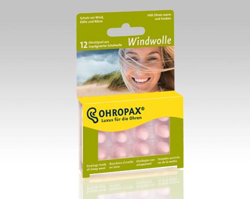 Chránič sluchu Ohropax Windwolle 6 párů