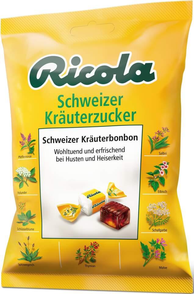 RICOLA Schweizer Kräuterzucker-bylinný drops 75g