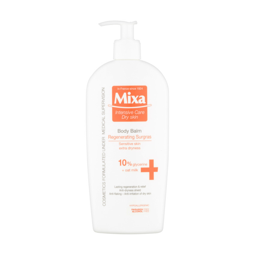 Mixa Surgras regenerační promašťující tělové mléko 400ml