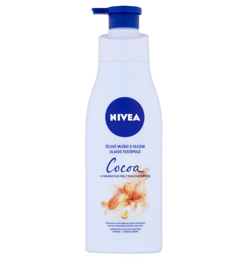 NIVEA Tělové mléko Cocoa&Macadami Oil 200ml 88445