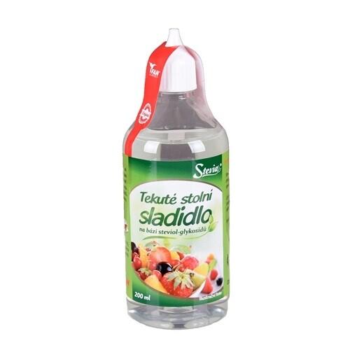FAN Sladidla Tekuté stolní sladidlo na bázi steviol glykosidů 200ml