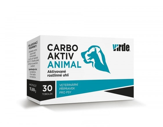 Carbo Aktiv Animal cps.30