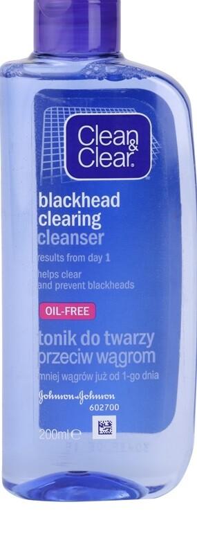 CLEAN&CLEAR Pleť. voda proti čern. tečkám 200 ml