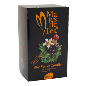Čaj Majestic Tea Aloe vera+Ostružina 20x2.5g