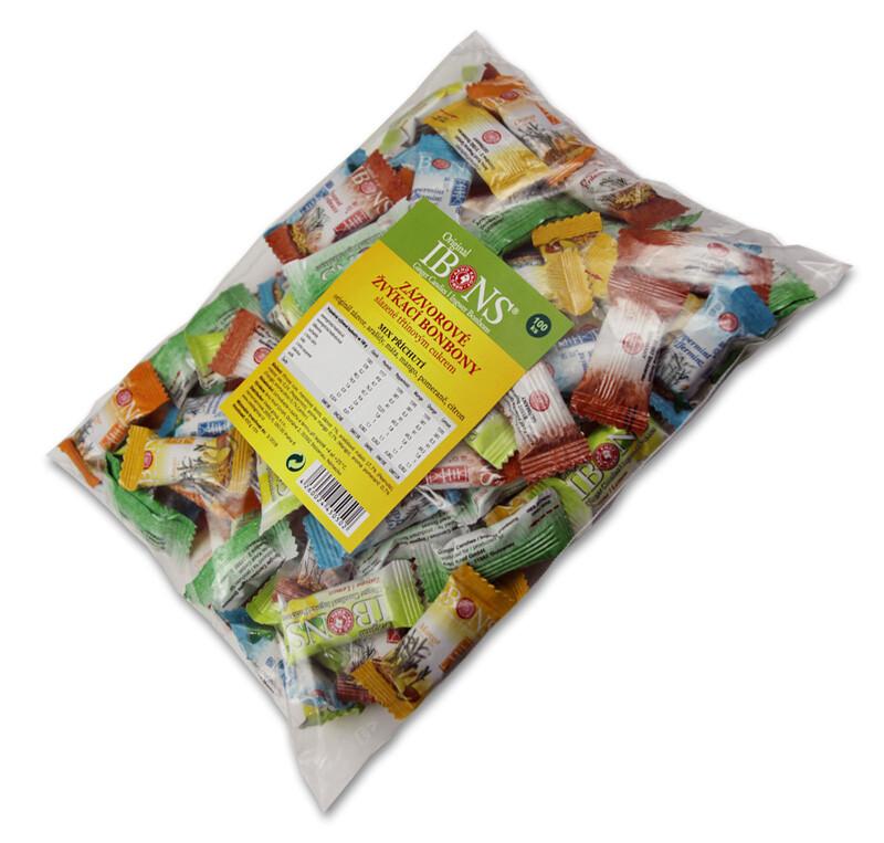 Vieste Ibons zázvorové žvýkací bonbony 100ks