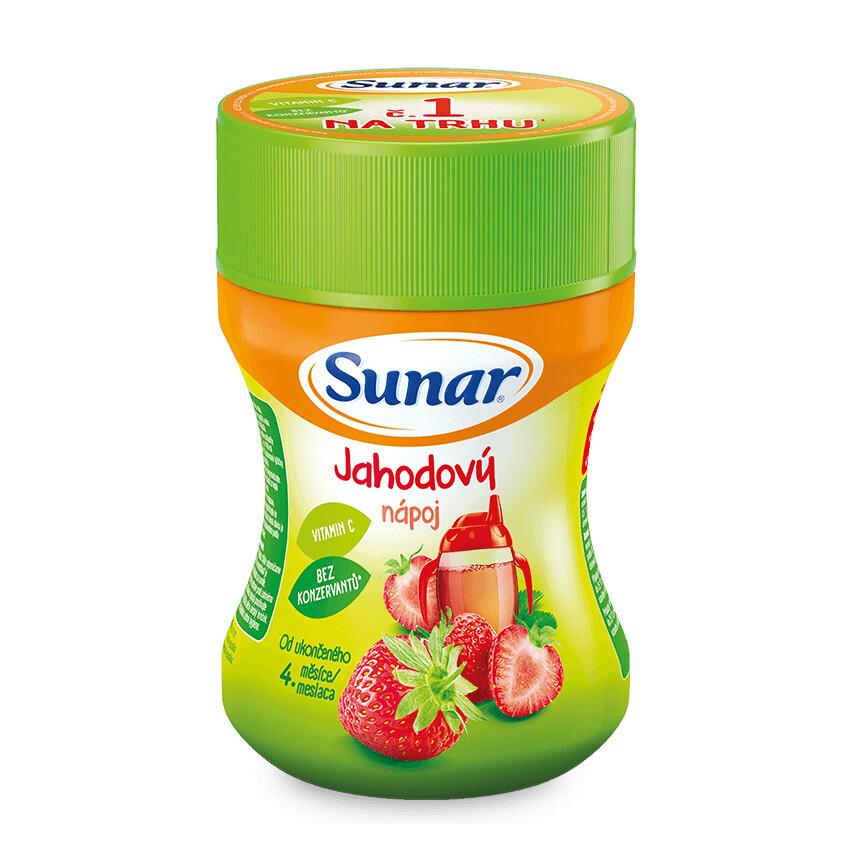 Sunárek rozpustný nápoj jahodový 200g