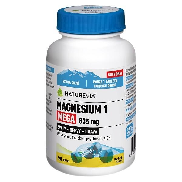 Swiss NatureVia Magnesium 1 Mega 835mg tbl.90