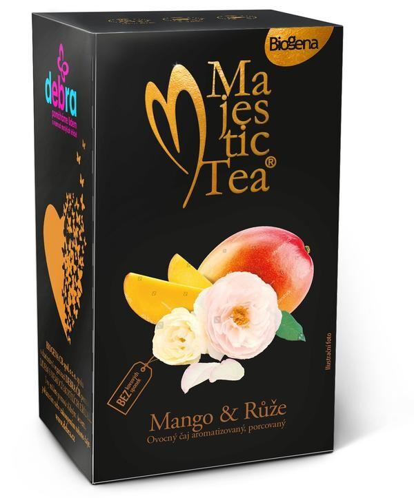 Čaj Majestic Tea Mango&Růže 20x2.5g