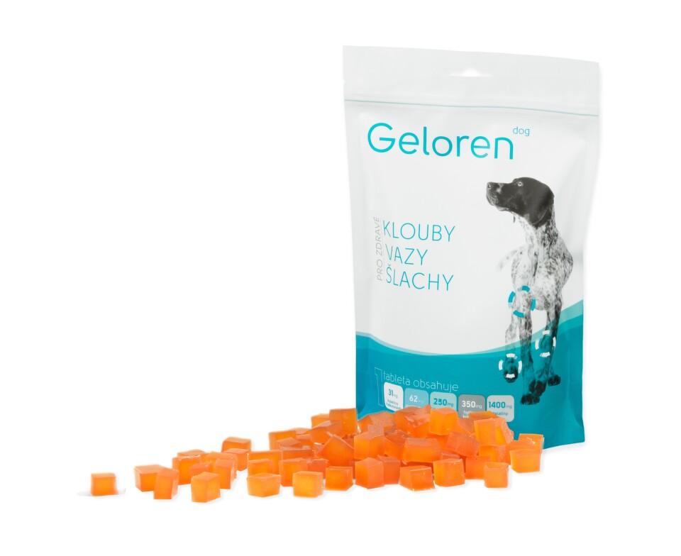 Geloren Dog žvýkací gelové tablety 90 tbl.