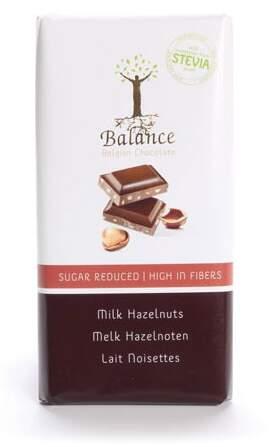 Balance Mléčná čokol.se stévií b.cukru lísk.oř.85g