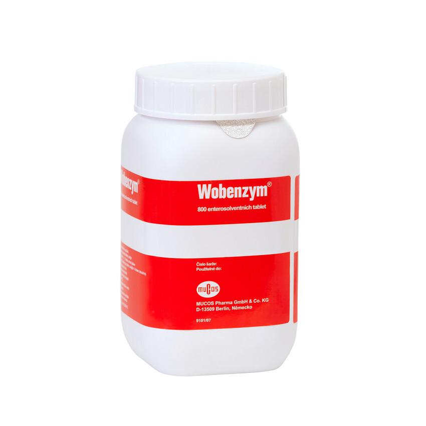 WOBENZYM perorální enterosolventní tableta 800 + dárek Alnavit Bio Cantuccuni 125g zdarma