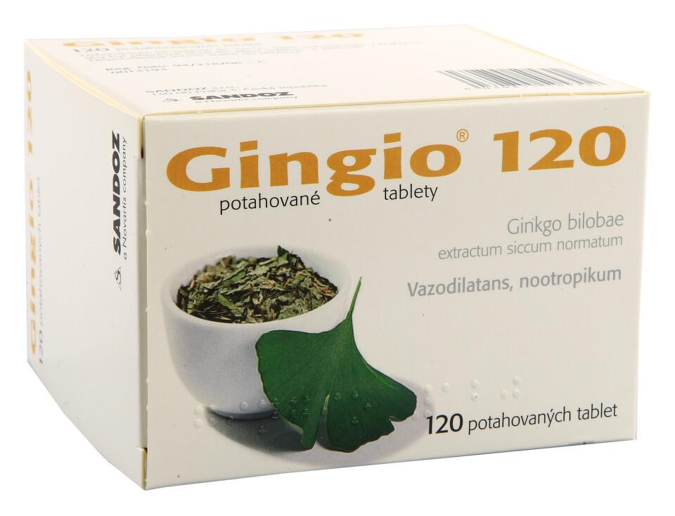 GINGIO 120MG potahované tablety 120