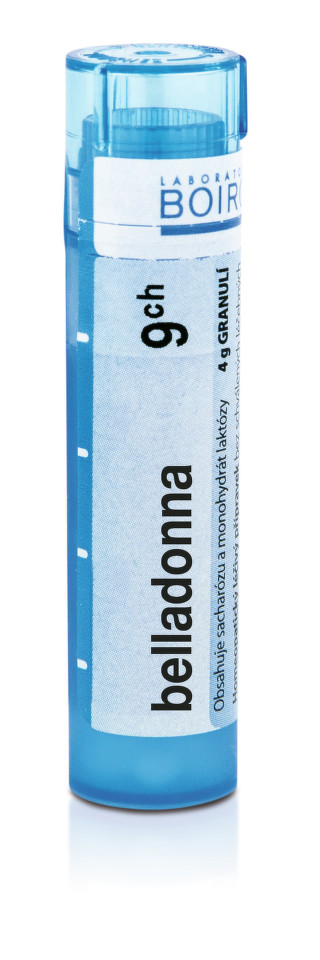 BELLADONNA perorální granule 4GM 9CH