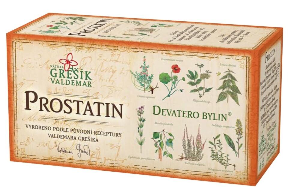 Grešík Devatero bylin Prostatin čaj n.s.20x1.5g