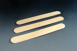 Lžička ústní dřevěná 100ks (Batist)